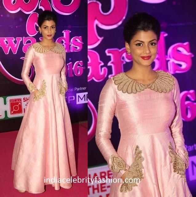 Anisha Ambrose in Architha Narayanam Gown