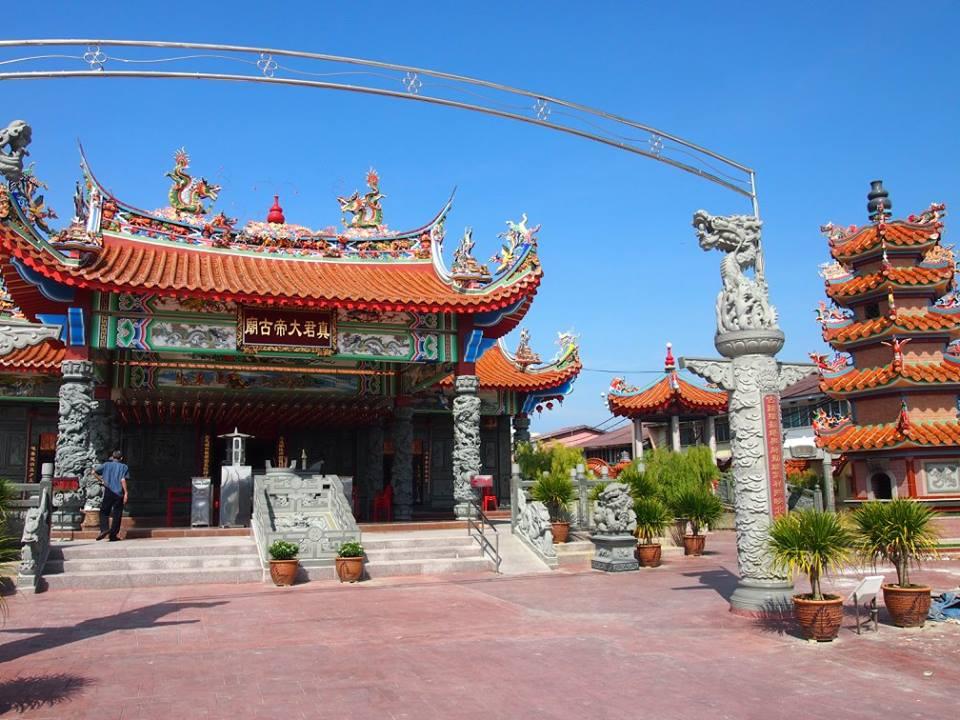 喜多米。Shan Zu's sweet house。: 高淵半日游之三:北霹靂角頭真君大帝廟及Sg.Udang海景茶室