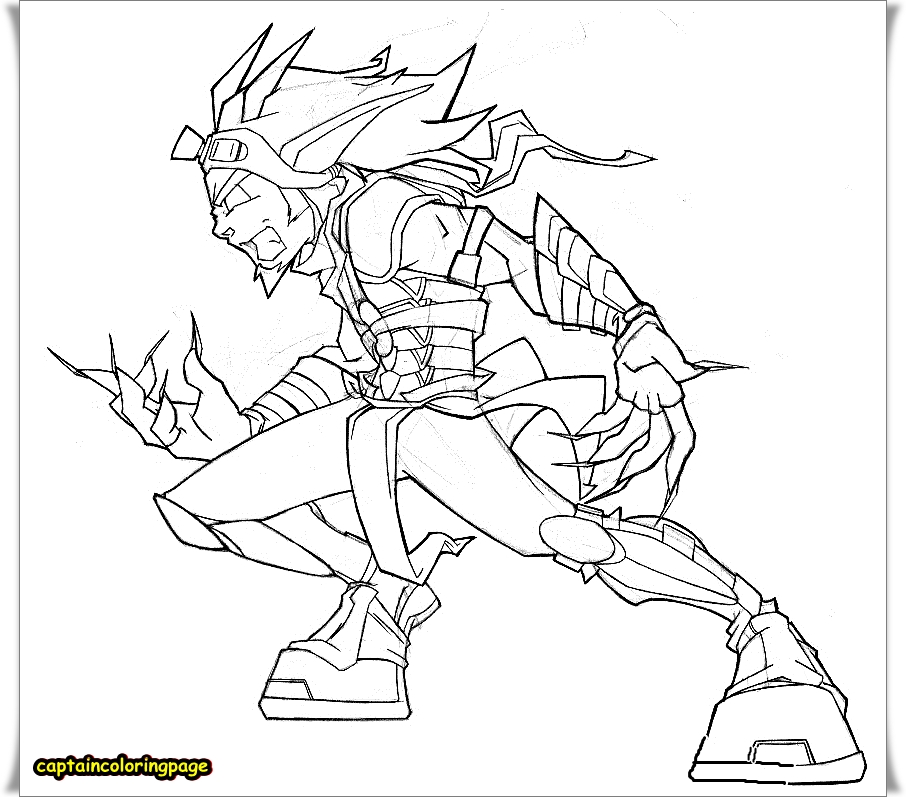 JAK AND DAXTER PRINTABLE COLORING