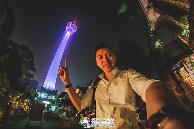 With my #TCSelfie, you can take awesome photo with KL Tower without spending RM699 haha!