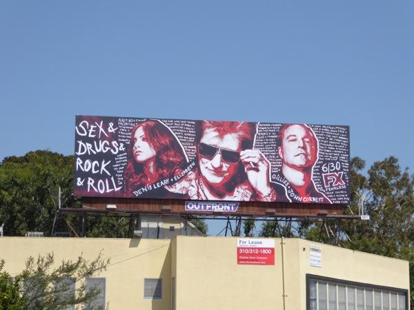 Sex & Drugs & Rock & Roll season 2 billboard