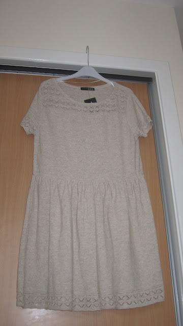 Primark Pointelle Skater Dress Cream