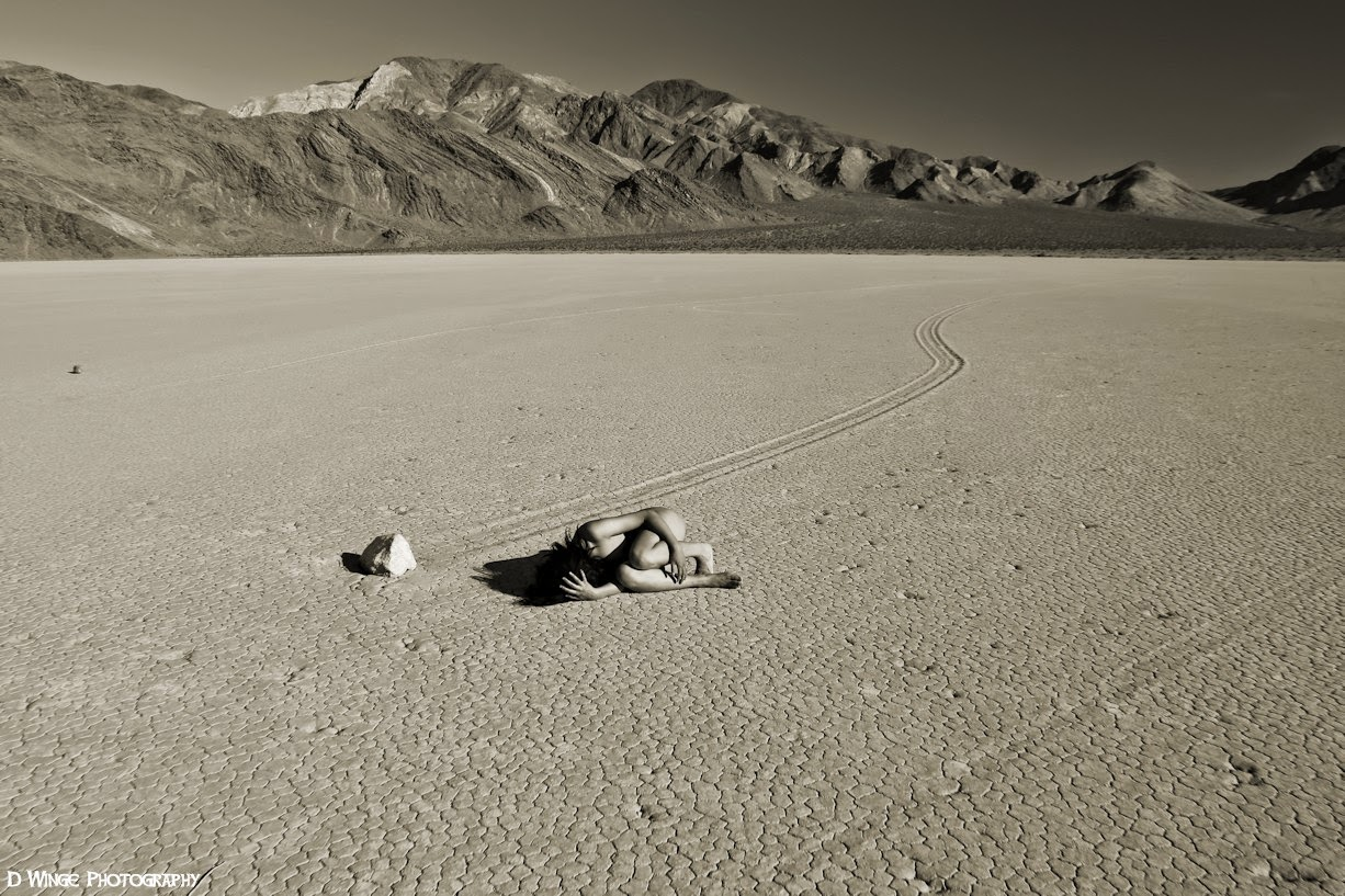 Desert Art Nude: Death Valley in May