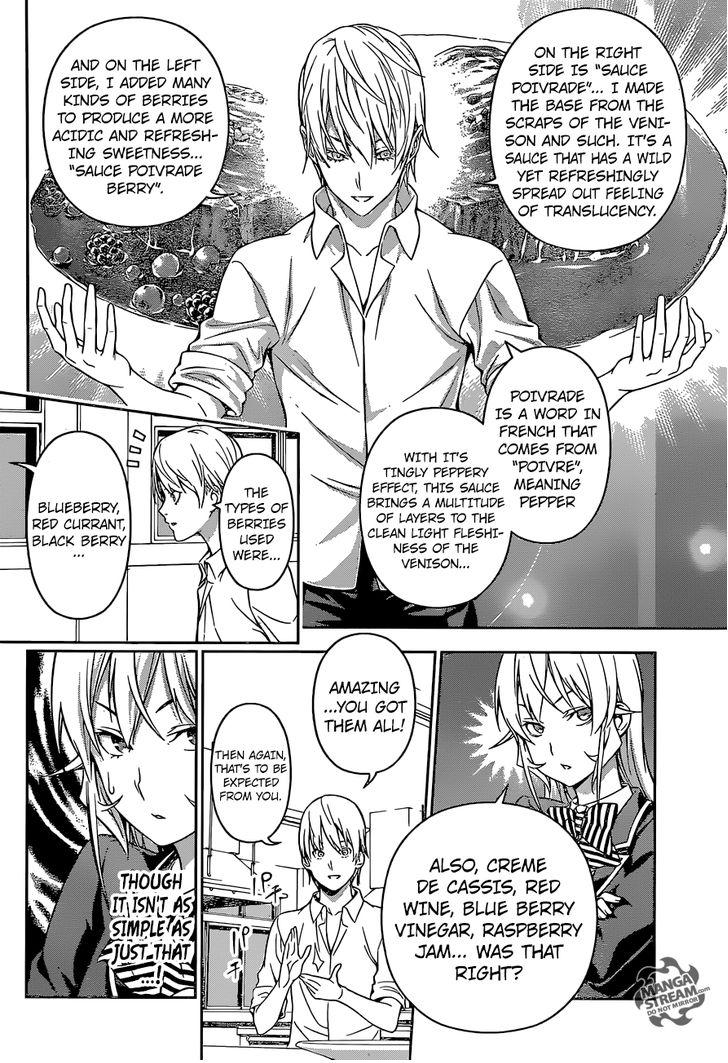 Shokugeki no Soma - Chapter 212