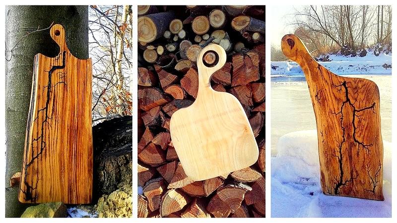 deseczkowo, deski, konkurs, figury lichtenberga na drewnie, zdobienie drewna,zycie od kuchni,
