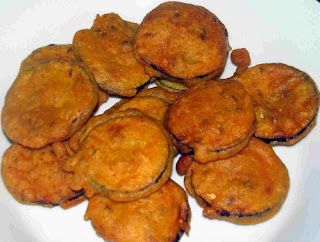 Baigan (Bringal) ke Pakore Recipe - foodocon.com