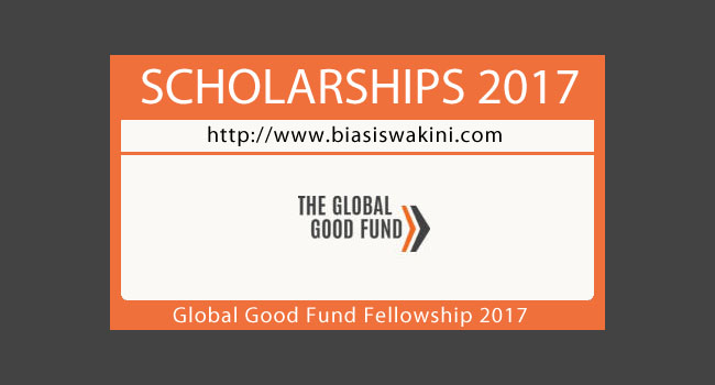 Global Good Fund Fellowship 2017