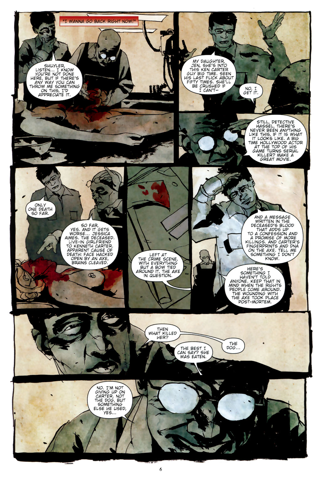 Read online Silent Hill: Dead/Alive comic -  Issue #3 - 8