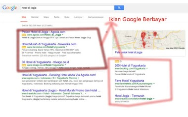 Pasang iklan di Google mendapatkan pengunjung banyak lho !!