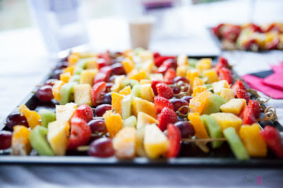 brochettes de fruits - Cooking with Rachel