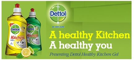 Free Dettol India Kitchen Gel Samples