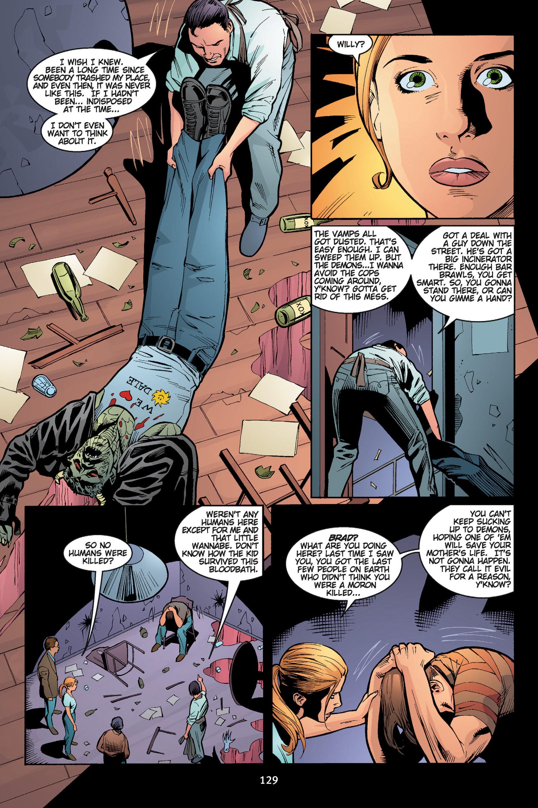 Read online Buffy the Vampire Slayer: Omnibus comic -  Issue # TPB 5 - 129