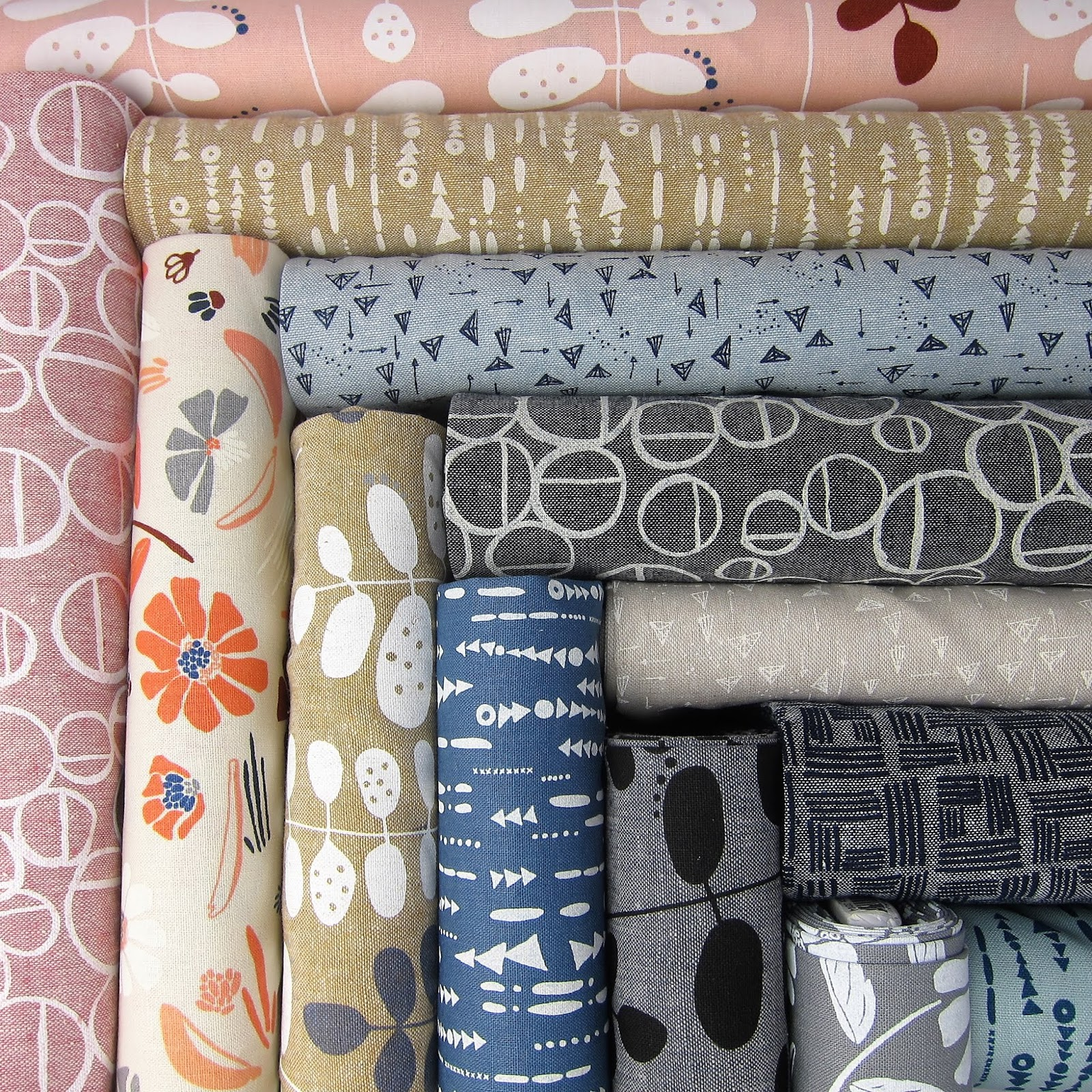 Forage by Anna Graham - Image by Stash Fabrics