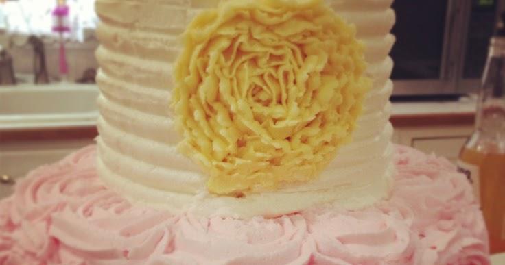 Wedding Cakes With Lemon Filing