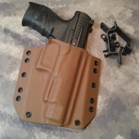 Custom Kydex OWB On Waistband Holster by Statureman Walther PPQ
