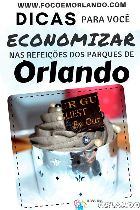 Pin - Dicas para economizar nas refeições em Orlando