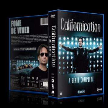 Capa DVD Californication A Série Completa [Box] (Oficial)
