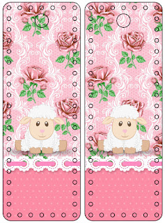 Lamb in Shabby Chic:  Free Party Printables.