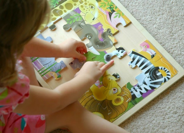 jungle puzzles for rainforest preschool theme