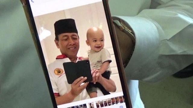 Curhat Wiranto Usai Kepergian Sang Cucu untuk Selamanya: Kita Semua Pasti Kembali