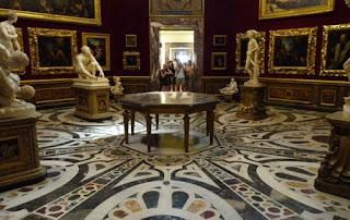 La Tribuna de los Uffizi.