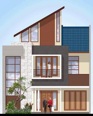 Model Rumah Minimalis 3 Lantai 2021