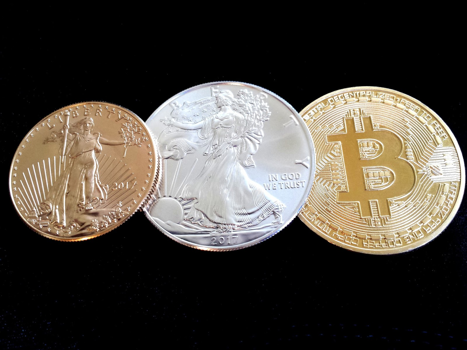 Gold, Silver and Bitcoin