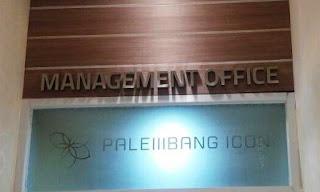 tempat pembuatan huruf stenlis hairline - letter sign palembang