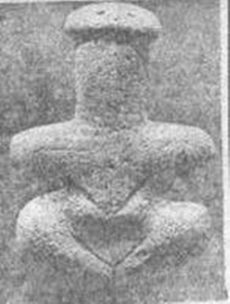 patung pembawa kematian dan juga kutukan yang menyeramkan