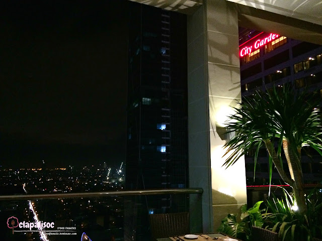 Roof Deck Bar at City Garden Hotel Makati