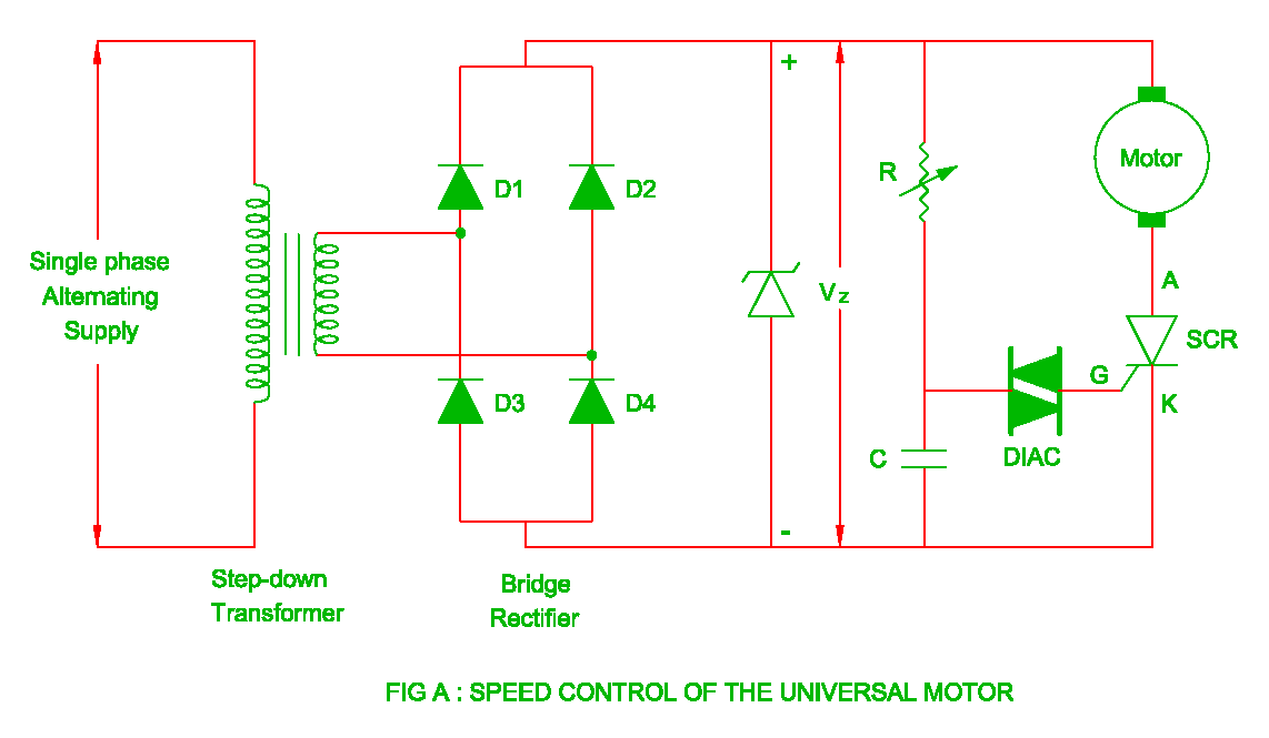 Speed Control of Universal Motor | Electrical Revolution