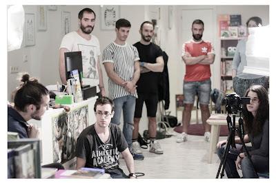 Grabación del vídeo de la campaña. Foto Paul Rodríguez