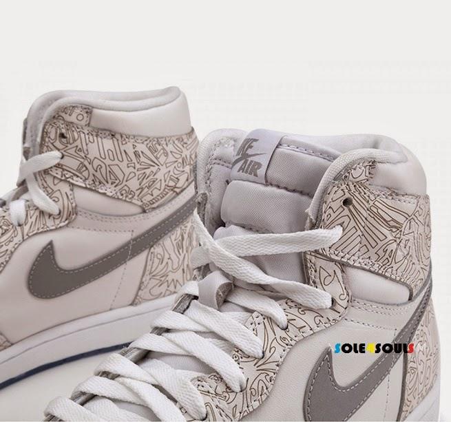 newest 657d7 5d3e8 Nike Air Jordan 1 Retro High Laser
