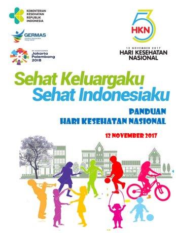 Pedoman Peringatan Hari Kesehatan Nasional 2017