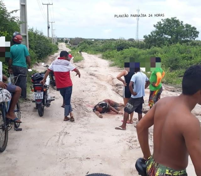 PARNAÍBA-HOMEM MORRE COM DISPAROS DE ARMA DE FOGO DURANTE ASSALTO EM PARNAÍBA
