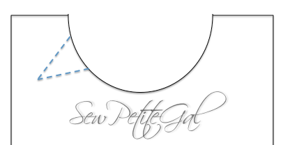 SewPetiteGal: Reversible Shell w/ Removable Peplum DIY