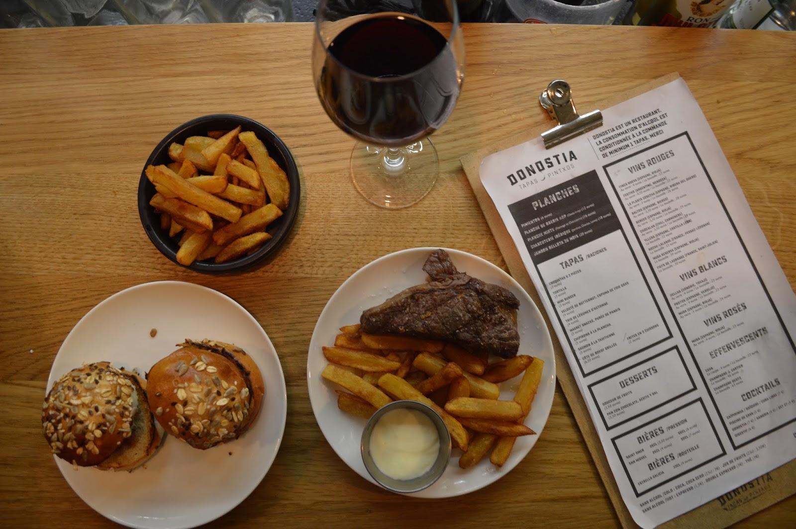 Donostia Bordeaux : bar à tapas quartier Saint Pierre