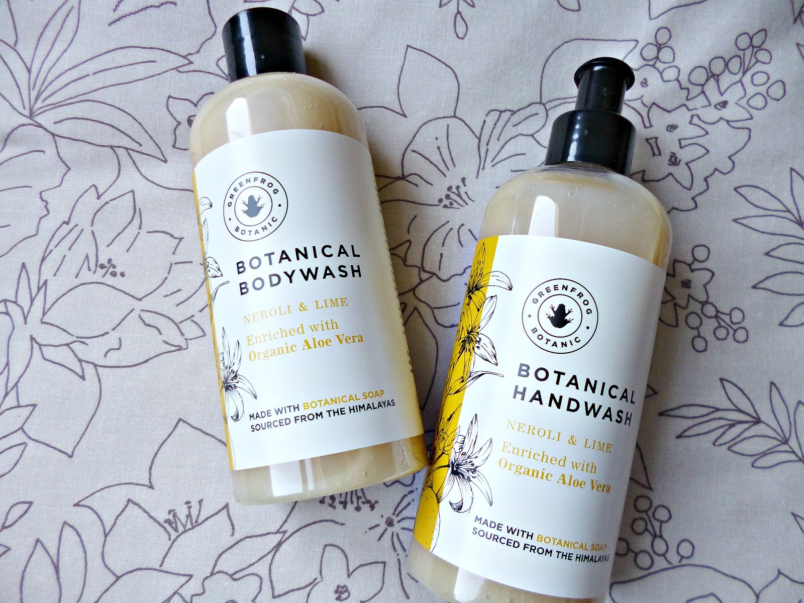 Greenfrog Botanical handwash and bodywash
