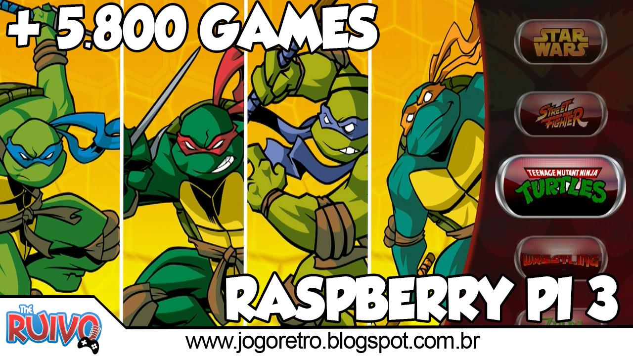 Raspberry Pi 3 - RetroPie Ultimate V3 (32GB) com 5 847 GAMES by