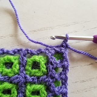 Window to the Whirl free crochet pattern tutorial by Felted Button