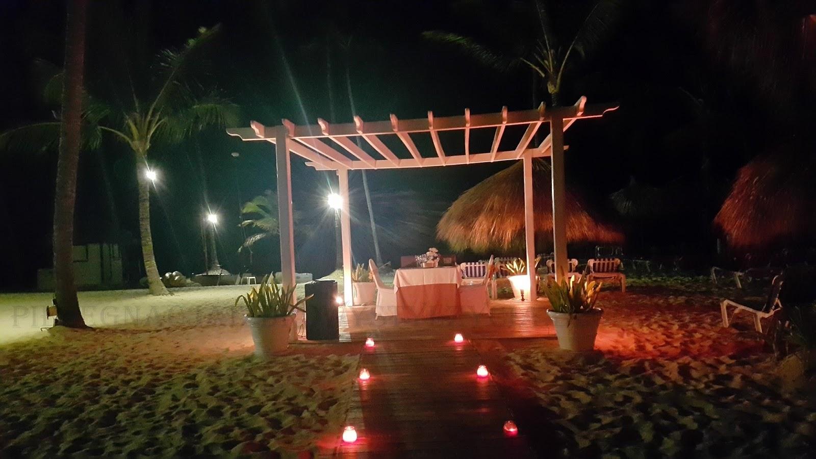 Romantyczna kolacja na plaży - Dominikana