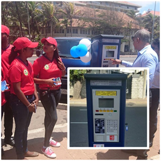Installing of automated parking meters commence in Colombo