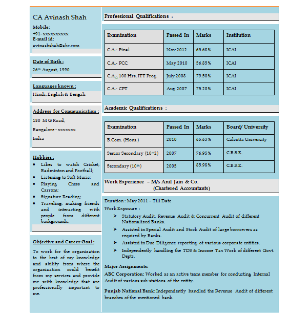 sample resume format for experienced accountant accountant resume sample with free download excellent chartered accountant resume - Charted Electrical Engineer Sample Resume