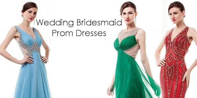 Wedding Bridesmaid Prom Dresses