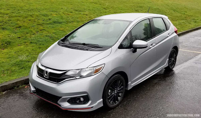 2018 Honda Fit Sport Front