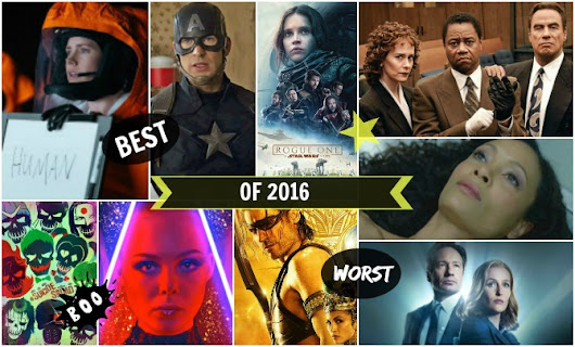 MY BEST & WORST LIST OF 2016