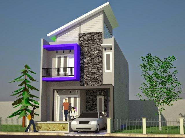 gambar terbaru rumah minimalis 2 lantai type 70