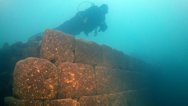 Ruins of 3,000 year old castle found in Turkish lake