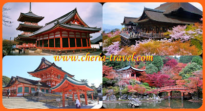 Pemandangan Indah Kota Kyoto Di Jepang