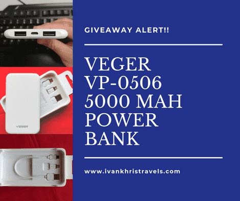Veger power banks partnership and giveaway for readers
